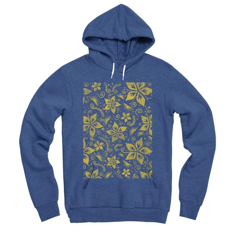 Batik Men's Sponge Fleece Pullover Hoody by RLLBCK Clothing Co.