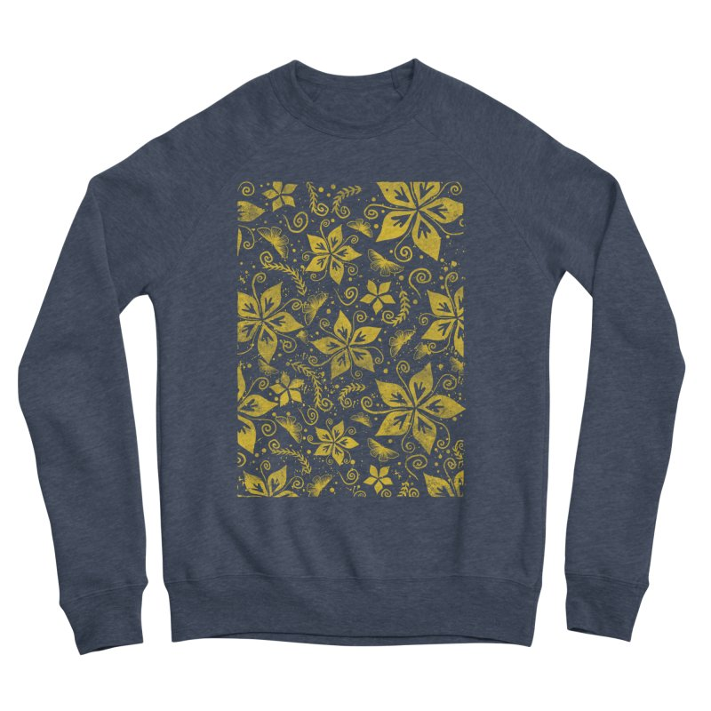Batik Men's Sponge Fleece Sweatshirt by RLLBCK Clothing Co.