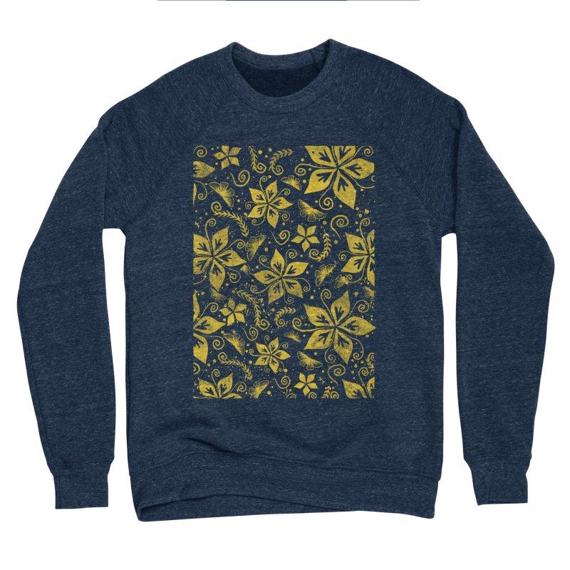Batik Women's Sponge Fleece Sweatshirt by RLLBCK Clothing Co.