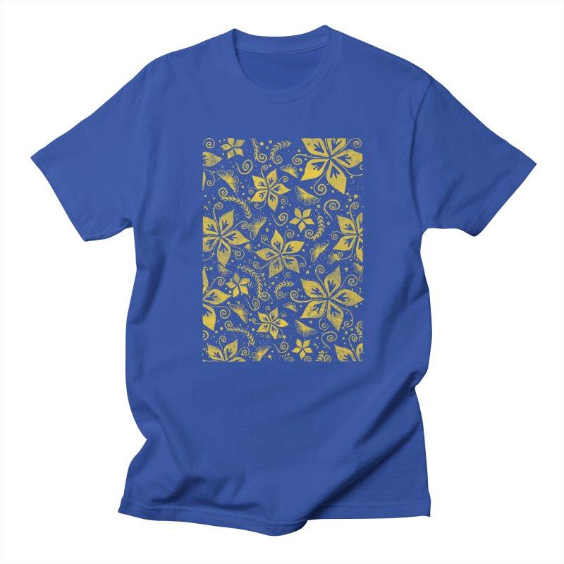 Batik Men's T-Shirt by RLLBCK Clothing Co.
