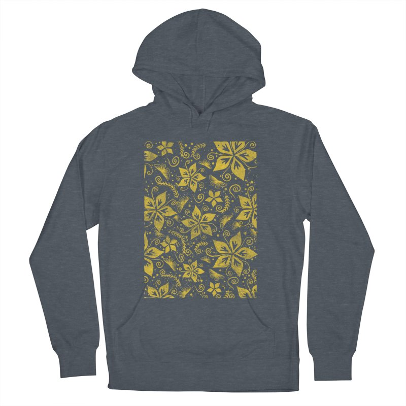 Batik Women's French Terry Pullover Hoody by RLLBCK Clothing Co.