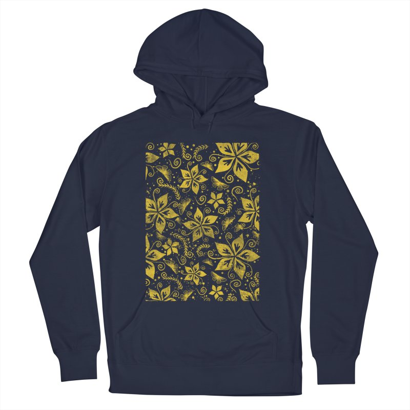 Batik Men's French Terry Pullover Hoody by RLLBCK Clothing Co.