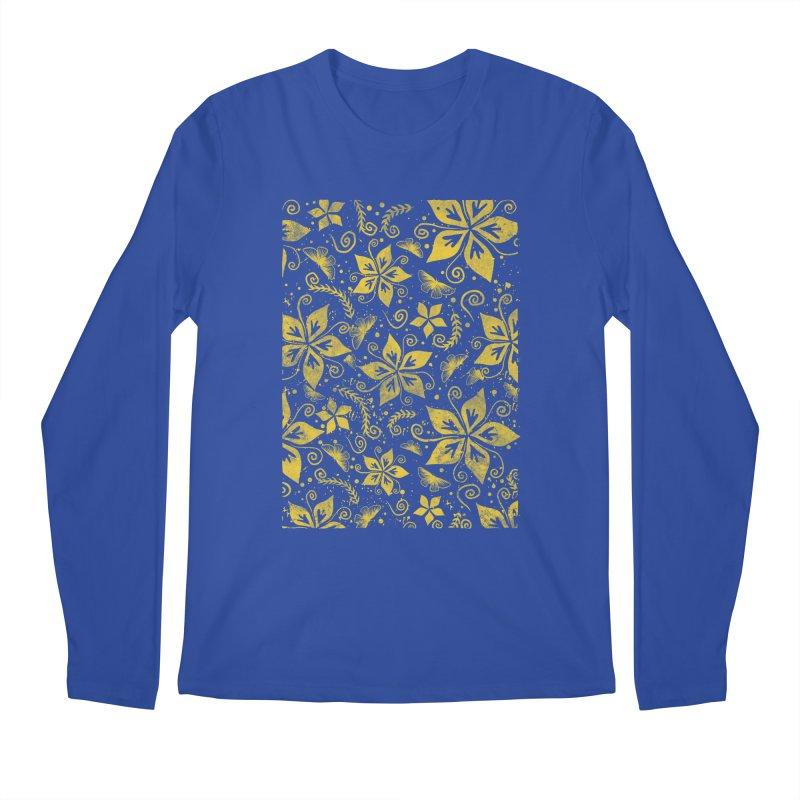 Batik Men's Regular Longsleeve T-Shirt by RLLBCK Clothing Co.