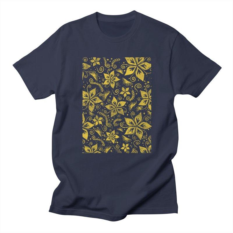 Batik Men's Regular T-Shirt by RLLBCK Clothing Co.
