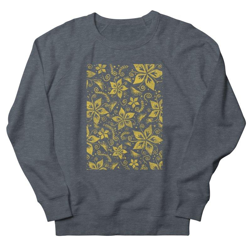 Batik Women's French Terry Sweatshirt by RLLBCK Clothing Co.