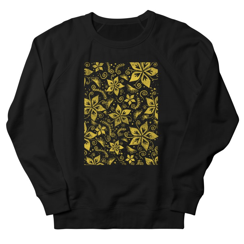 Batik Men's French Terry Sweatshirt by RLLBCK Clothing Co.