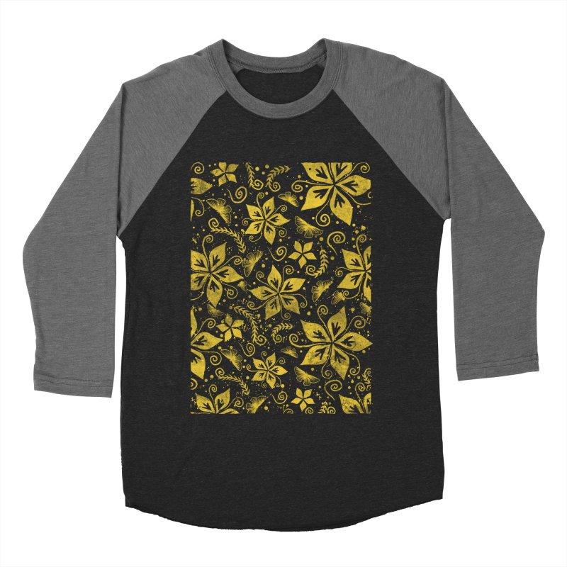 Batik Women's Baseball Triblend Longsleeve T-Shirt by RLLBCK Clothing Co.