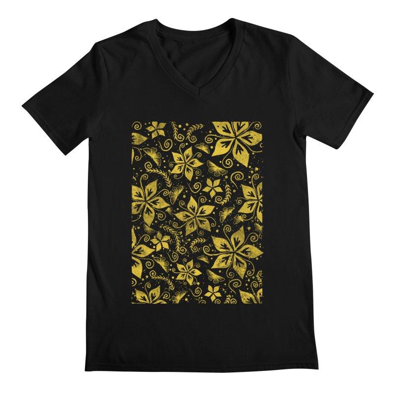 Batik Men's Regular V-Neck by RLLBCK Clothing Co.