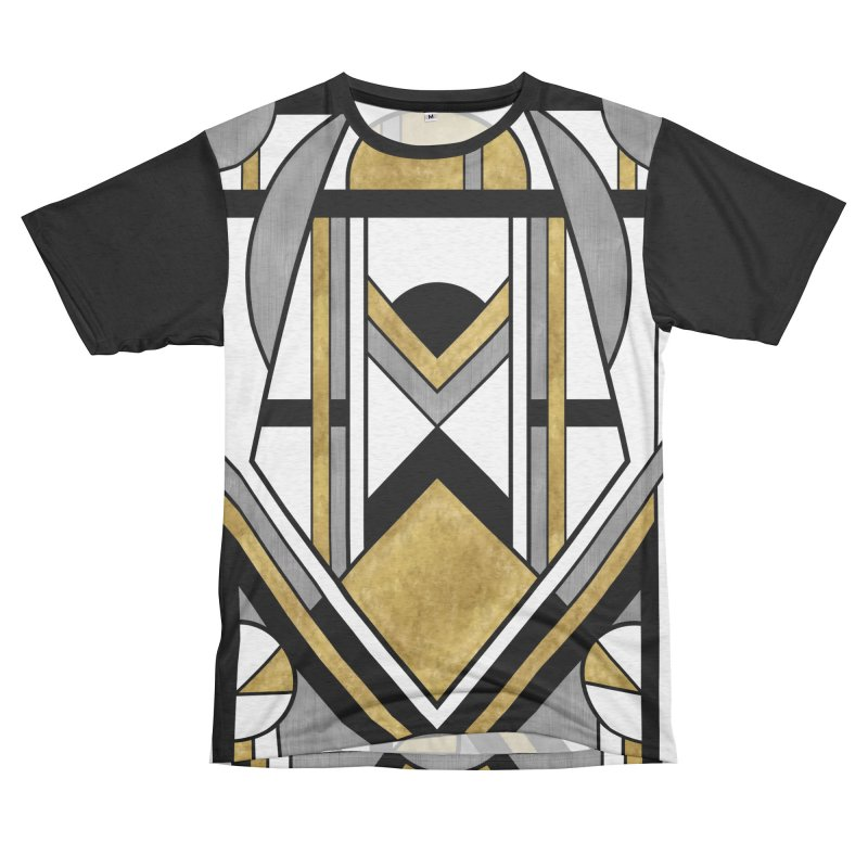 Up & Away - Art Deco Spaceman Men's Cut & Sew by RML Studios: The Art & Design of Ryan Livingston