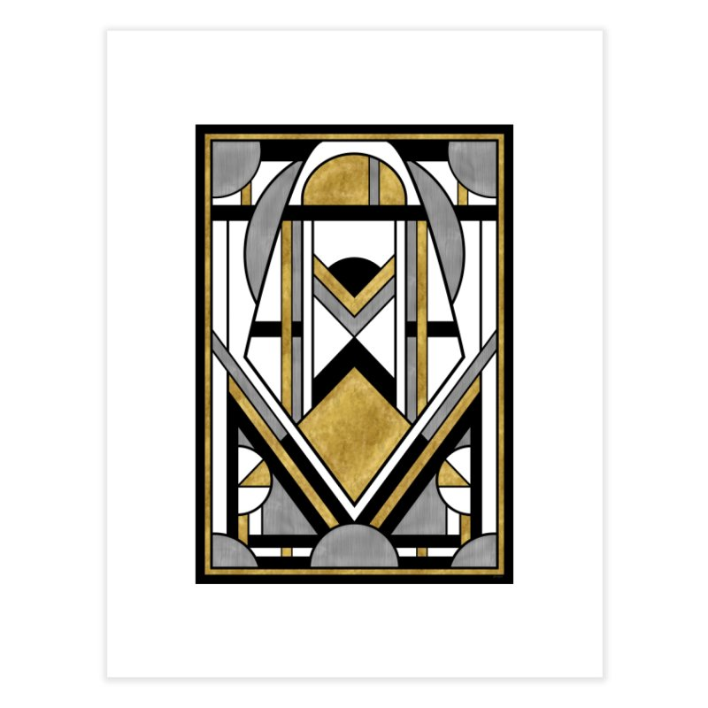 Up & Away - Art Deco Spaceman Home Fine Art Print by RML Studios: The Art & Design of Ryan Livingston
