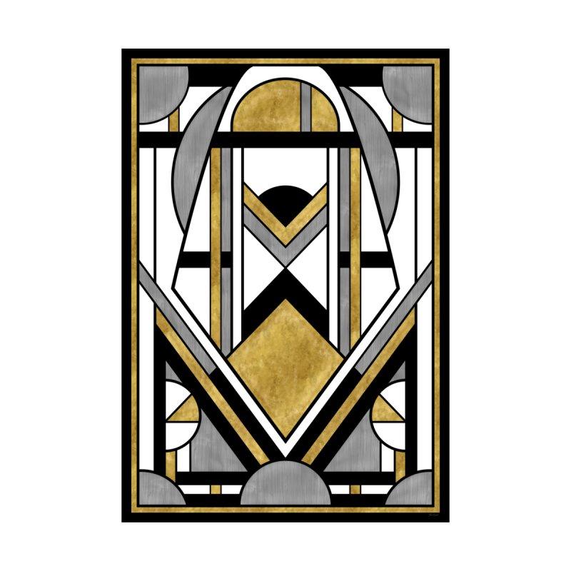 Up & Away - Art Deco Spaceman Women's Cut & Sew by RML Studios: The Art & Design of Ryan Livingston