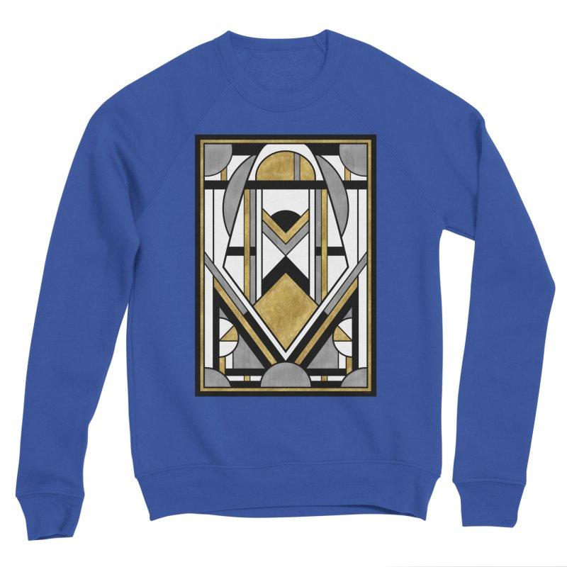 Up & Away - Art Deco Spaceman Men's Sweatshirt by RML Studios: The Art & Design of Ryan Livingston