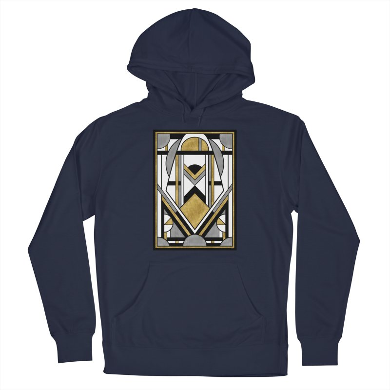 Up & Away - Art Deco Spaceman Men's Pullover Hoody by RML Studios: The Art & Design of Ryan Livingston