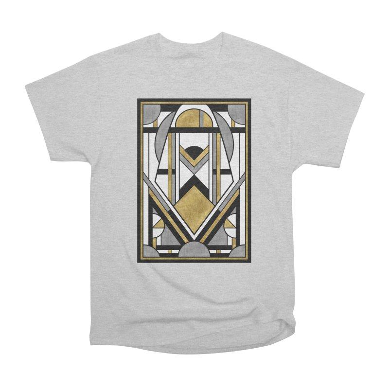 Up & Away - Art Deco Spaceman Men's T-Shirt by RML Studios: The Art & Design of Ryan Livingston