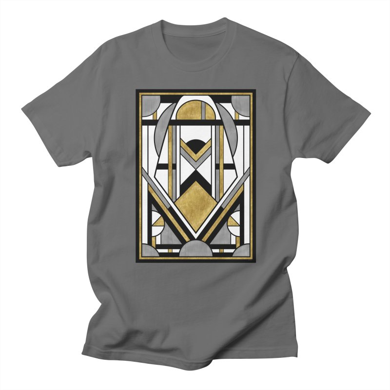 Up & Away - Art Deco Spaceman Men's T-Shirt by RML Studios: The Art & Design of Ryan Livingston