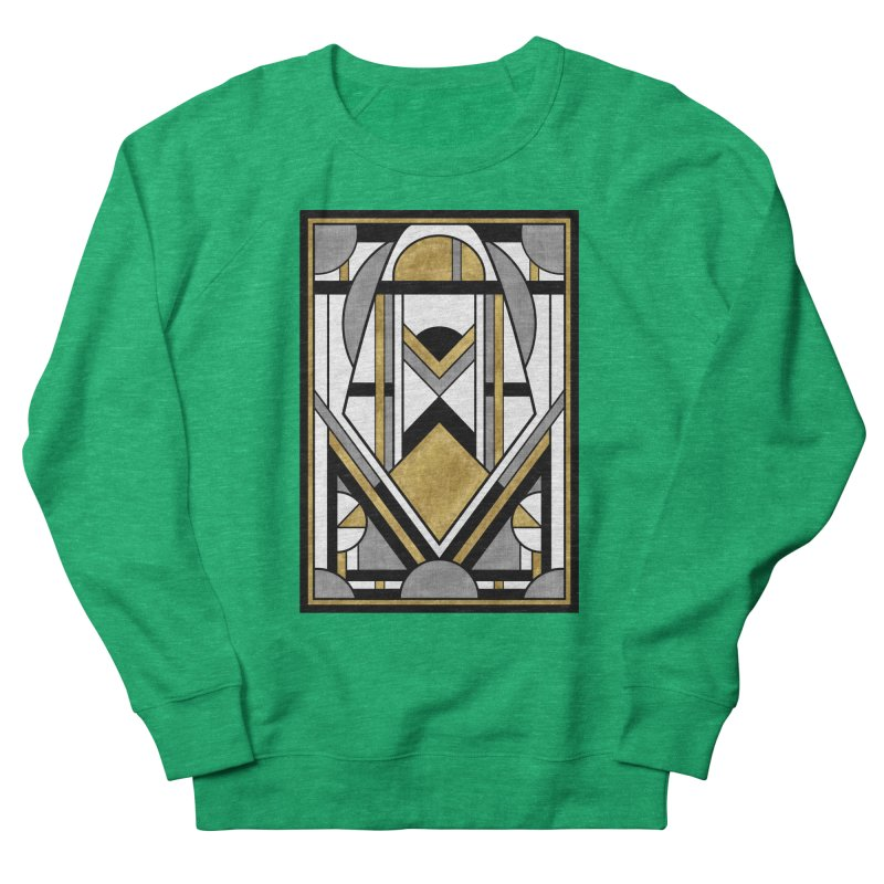 Up & Away - Art Deco Spaceman Women's Sweatshirt by RML Studios: The Art & Design of Ryan Livingston