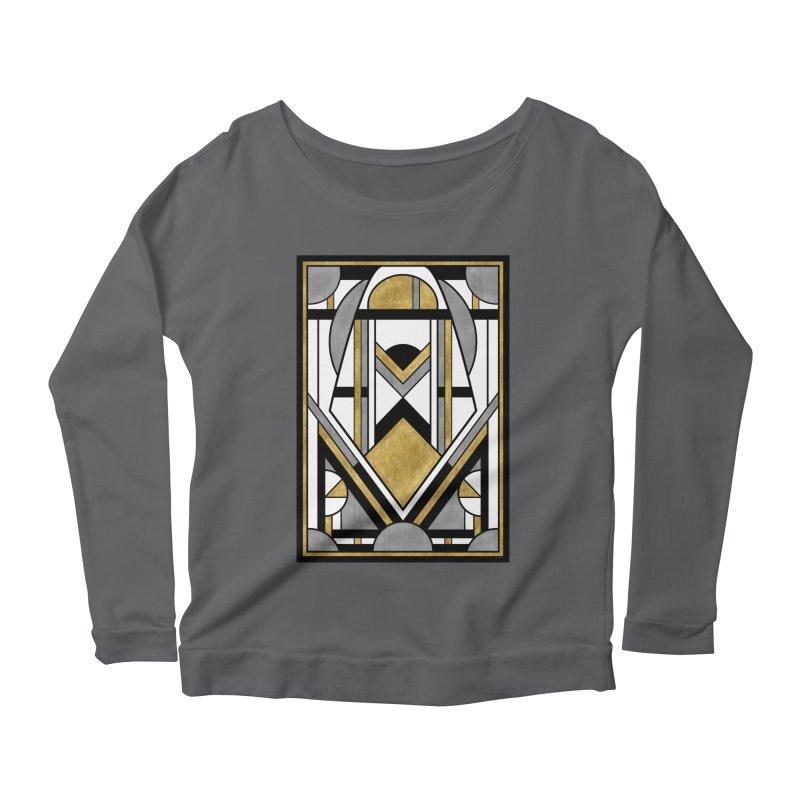 Up & Away - Art Deco Spaceman Women's Longsleeve T-Shirt by RML Studios: The Art & Design of Ryan Livingston
