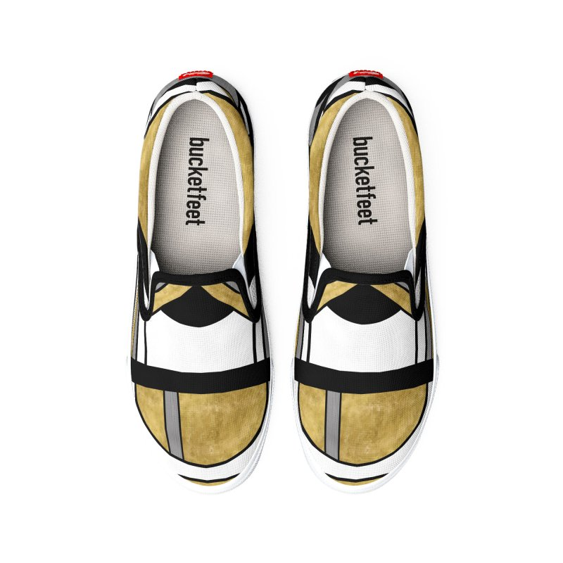 Up & Away - Art Deco Spaceman Men's Shoes by RML Studios: The Art & Design of Ryan Livingston