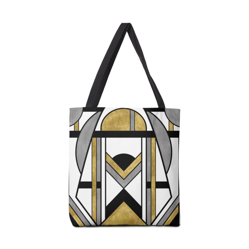 Up & Away - Art Deco Spaceman Accessories Bag by RML Studios: The Art & Design of Ryan Livingston
