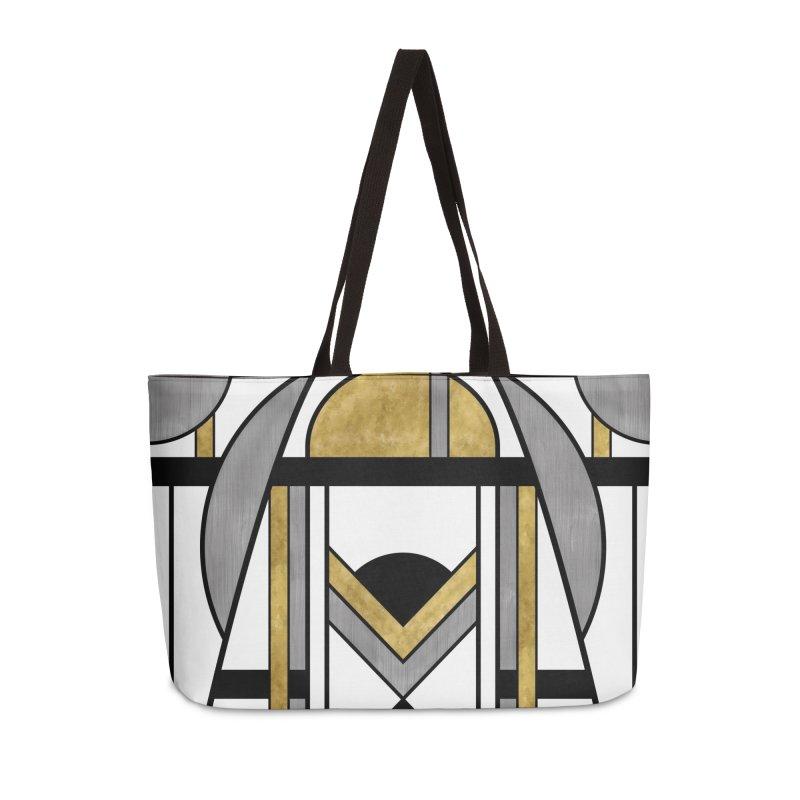 Up & Away - Art Deco Spaceman Accessories Bag by RML Studios: The Art & Design of Ryan Livingston