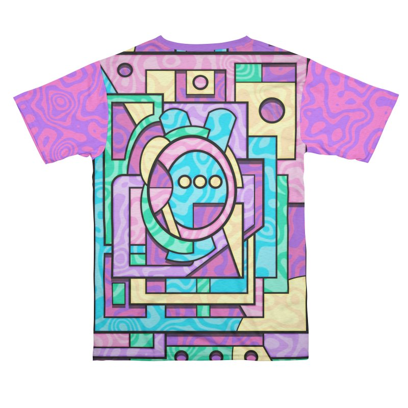 Rabbot Hutch - Brightly Colored Geometric Abstract Art Women's Cut & Sew by RML Studios: The Art & Design of Ryan Livingston
