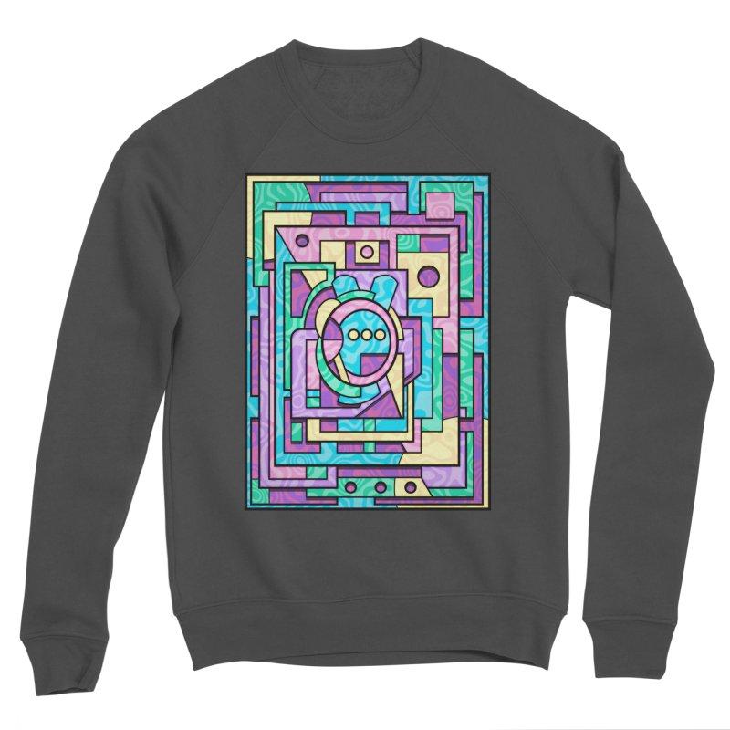 Rabbot Hutch - Brightly Colored Geometric Abstract Art Women's Sweatshirt by RML Studios: The Art & Design of Ryan Livingston
