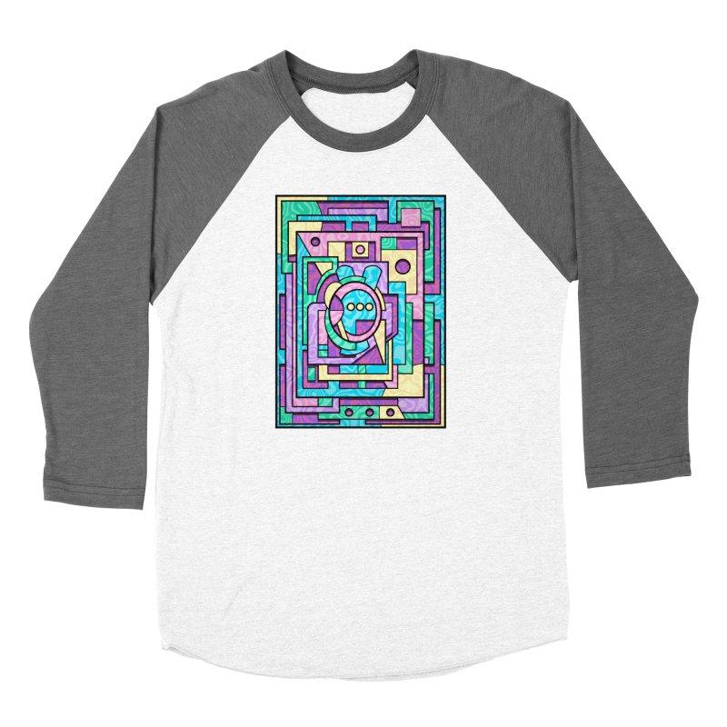 Rabbot Hutch - Brightly Colored Geometric Abstract Art Women's Longsleeve T-Shirt by RML Studios: The Art & Design of Ryan Livingston
