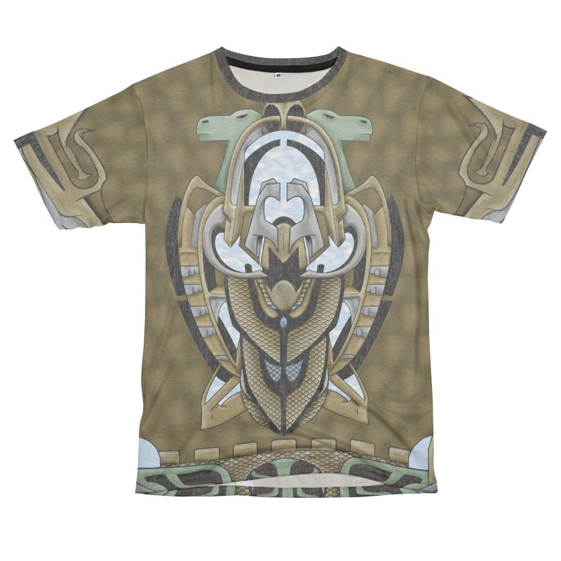Claddagh Hawk - Celtic Inspired Art Deco Men's Cut & Sew by RML Studios: The Art & Design of Ryan Livingston