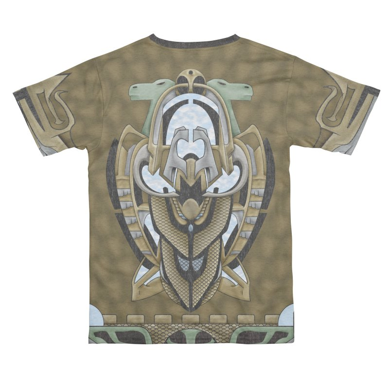 Claddagh Hawk - Celtic Inspired Art Deco Women's Cut & Sew by RML Studios: The Art & Design of Ryan Livingston