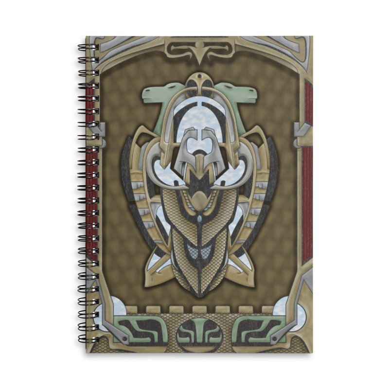 Claddagh Hawk - Celtic Inspired Art Deco Accessories Notebook by RML Studios: The Art & Design of Ryan Livingston