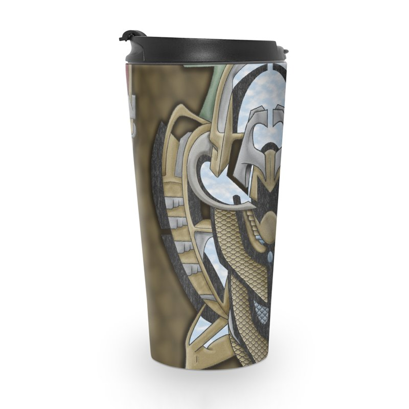 Claddagh Hawk - Celtic Inspired Art Deco Accessories Mug by RML Studios: The Art & Design of Ryan Livingston