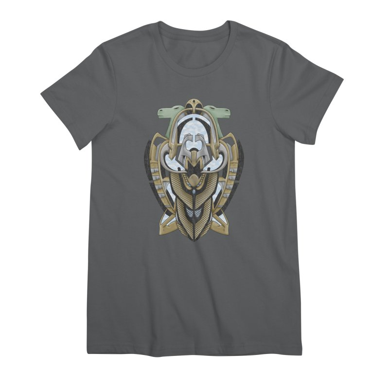 Claddagh Hawk - Celtic Inspired Art Deco Women's T-Shirt by RML Studios: The Art & Design of Ryan Livingston