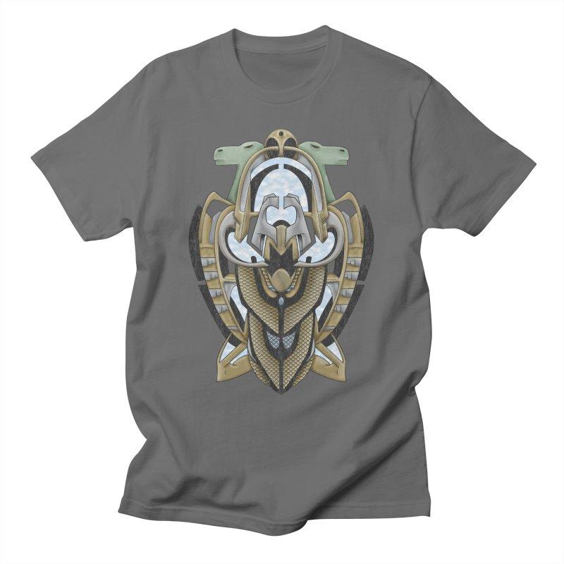 Claddagh Hawk - Celtic Inspired Art Deco Men's T-Shirt by RML Studios: The Art & Design of Ryan Livingston