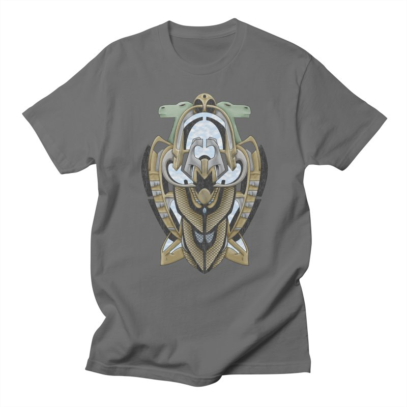 Claddagh Hawk - Celtic Inspired Art Deco Men's T-Shirt by RML Studios: The Art & Design of Ryan Livingston