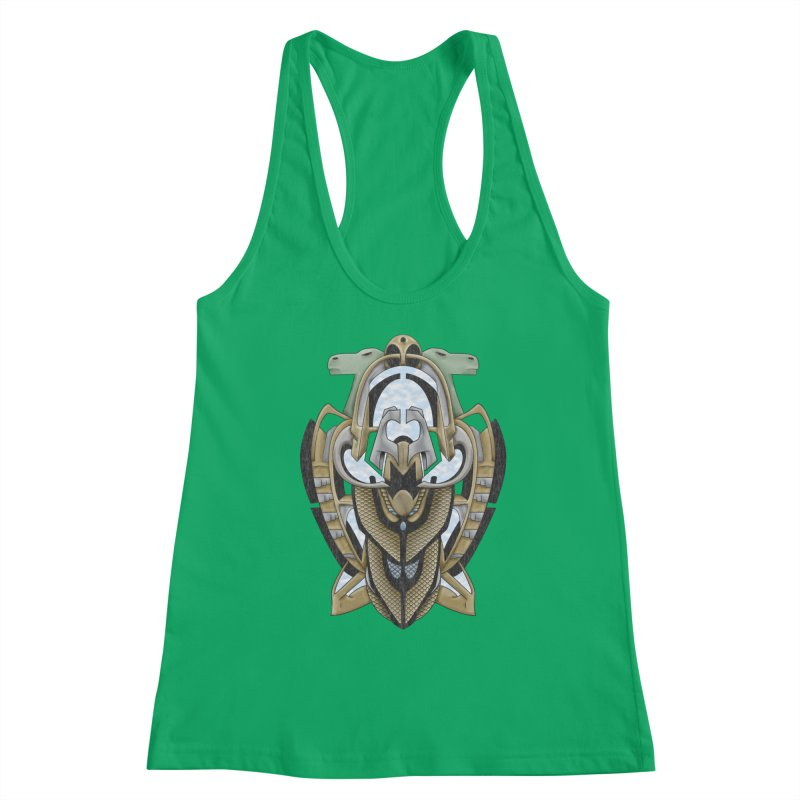 Claddagh Hawk - Celtic Inspired Art Deco Women's Tank by RML Studios: The Art & Design of Ryan Livingston