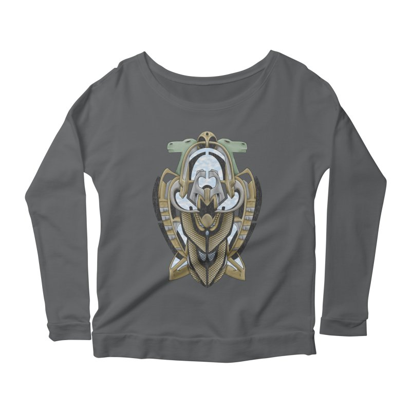 Claddagh Hawk - Celtic Inspired Art Deco Women's Longsleeve T-Shirt by RML Studios: The Art & Design of Ryan Livingston
