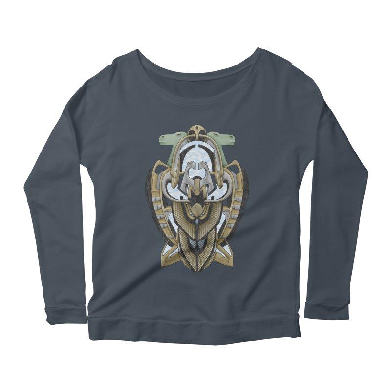 Claddagh Hawk - Celtic Inspired Art Deco Women's Longsleeve T-Shirt by RML Studios: The Art & Design of Ryan Livingston