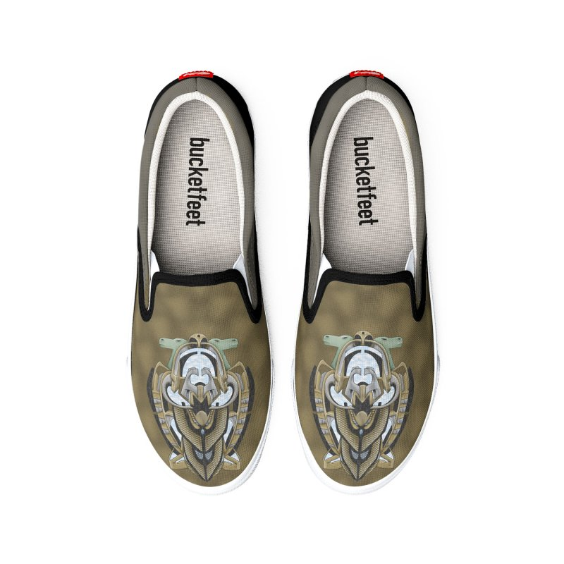 Claddagh Hawk - Celtic Inspired Art Deco Men's Shoes by RML Studios: The Art & Design of Ryan Livingston