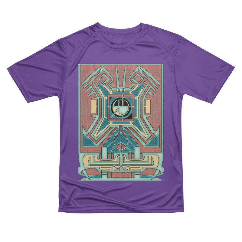 Ancient Guardian - Mesoamerican Inspired Art Deco Women's T-Shirt by RML Studios: The Art & Design of Ryan Livingston