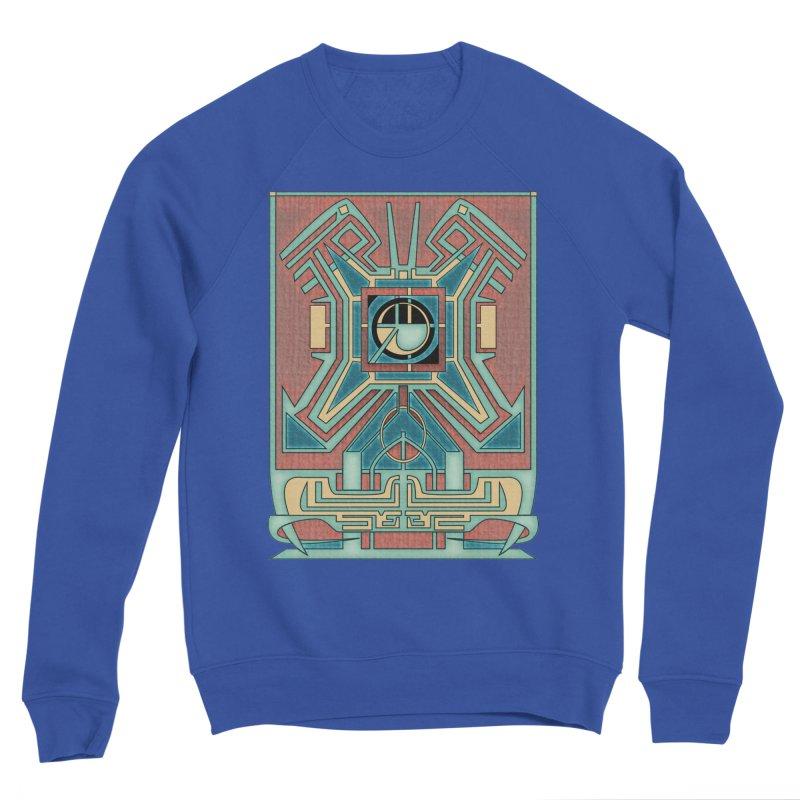 Ancient Guardian - Mesoamerican Inspired Art Deco Women's Sweatshirt by RML Studios: The Art & Design of Ryan Livingston