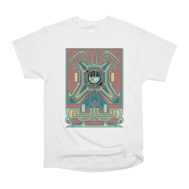 Ancient Guardian - Mesoamerican Inspired Art Deco Women's T-Shirt by RML Studios: The Art & Design of Ryan Livingston