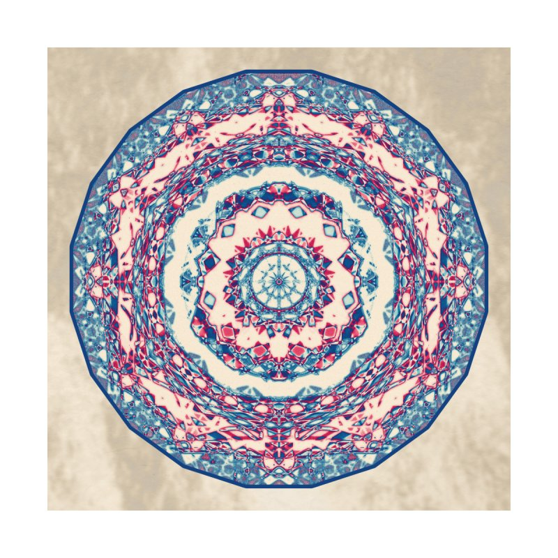Dutchesque Mandala - Pastel Abstract Boho Design Men's V-Neck by RML Studios: The Art & Design of Ryan Livingston