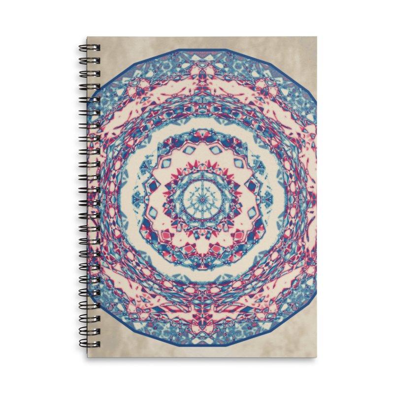 Dutchesque Mandala - Pastel Abstract Boho Design Accessories Notebook by RML Studios: The Art & Design of Ryan Livingston