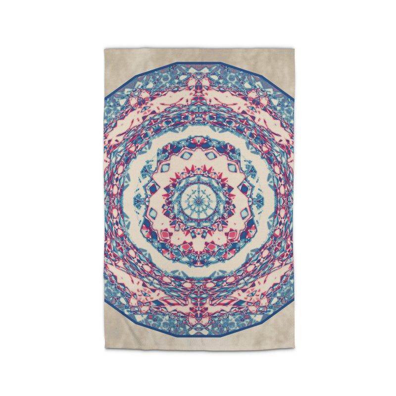 Dutchesque Mandala - Pastel Abstract Boho Design Home Rug by RML Studios: The Art & Design of Ryan Livingston