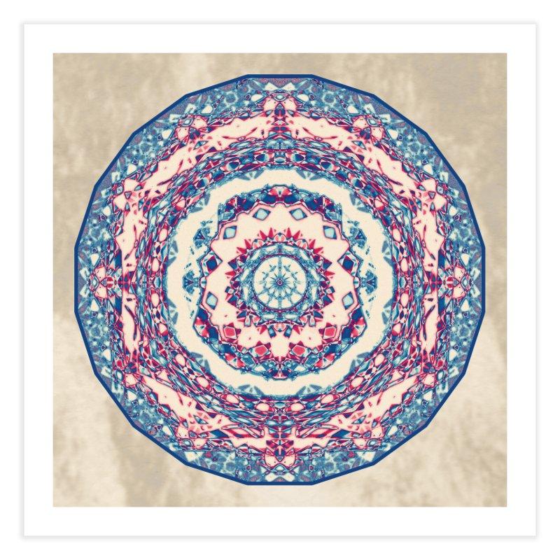 Dutchesque Mandala - Pastel Abstract Boho Design Home Fine Art Print by RML Studios: The Art & Design of Ryan Livingston