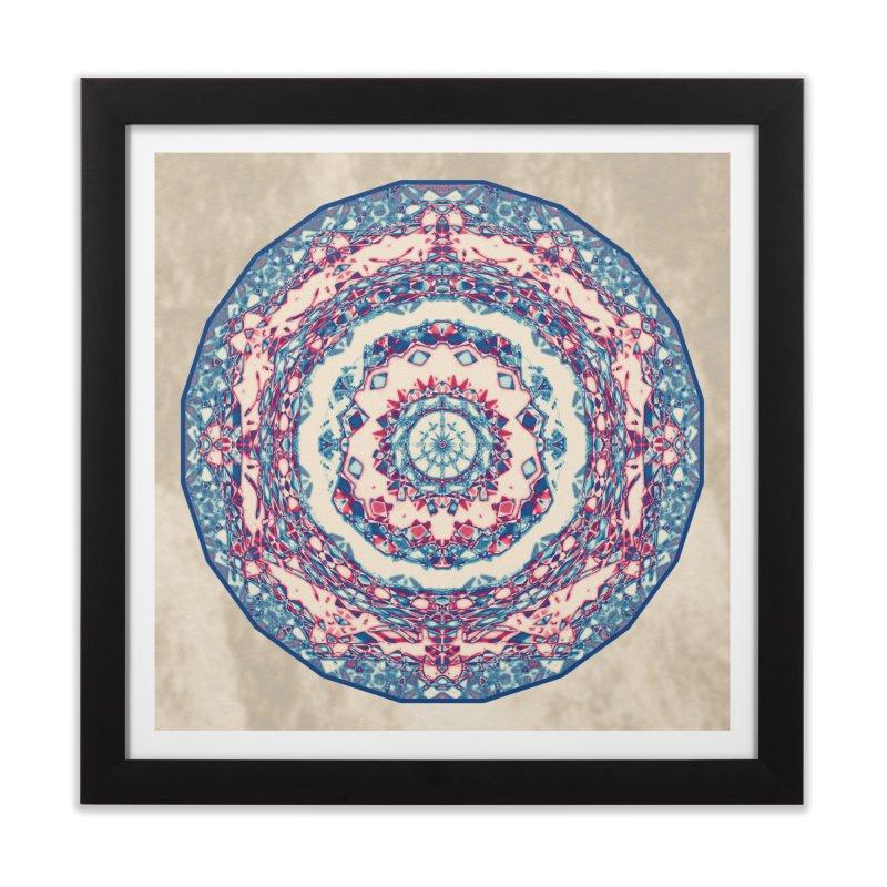 Dutchesque Mandala - Pastel Abstract Boho Design Home Framed Fine Art Print by RML Studios: The Art & Design of Ryan Livingston