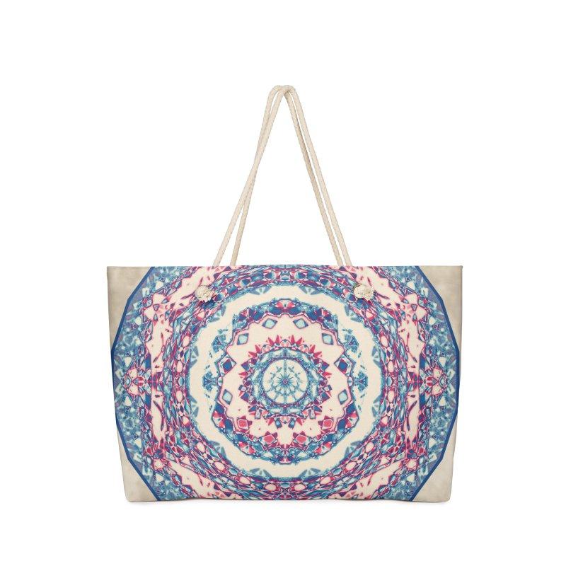 Dutchesque Mandala - Pastel Abstract Boho Design Accessories Bag by RML Studios: The Art & Design of Ryan Livingston