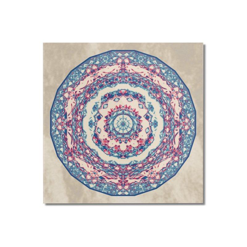Dutchesque Mandala - Pastel Abstract Boho Design Home Mounted Acrylic Print by RML Studios: The Art & Design of Ryan Livingston