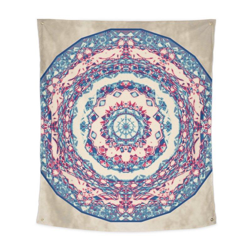 Dutchesque Mandala - Pastel Abstract Boho Design Home Tapestry by RML Studios: The Art & Design of Ryan Livingston
