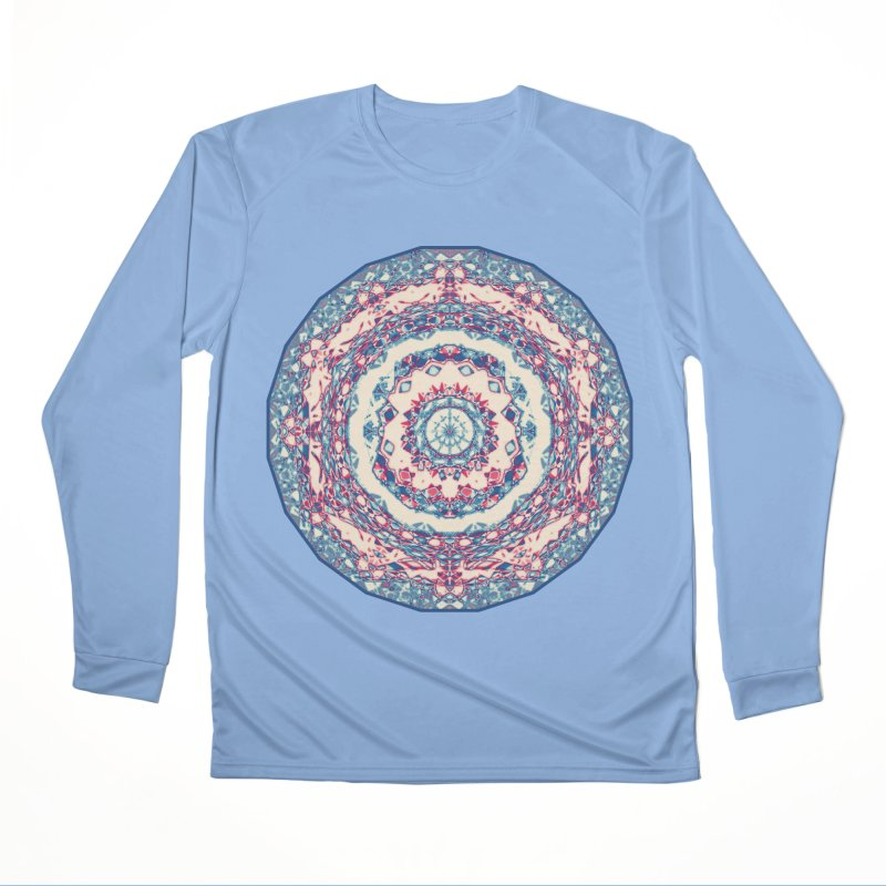 Dutchesque Mandala - Pastel Abstract Boho Design Men's Longsleeve T-Shirt by RML Studios: The Art & Design of Ryan Livingston